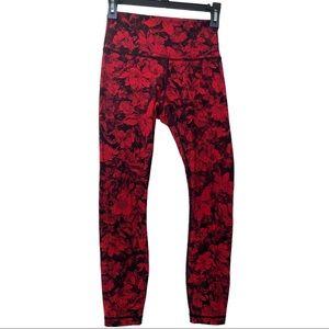 lululemon size 4 red pants